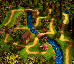 DKC3 Screenshot Kremwood Forest.png