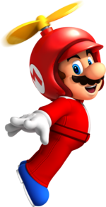 NSMBW Artwork Propeller-Mario.png