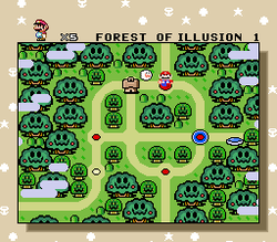SMW Screenshot Forest of Illusion.png