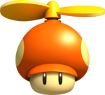 NSMBW Artwork Propeller-Pilz.png